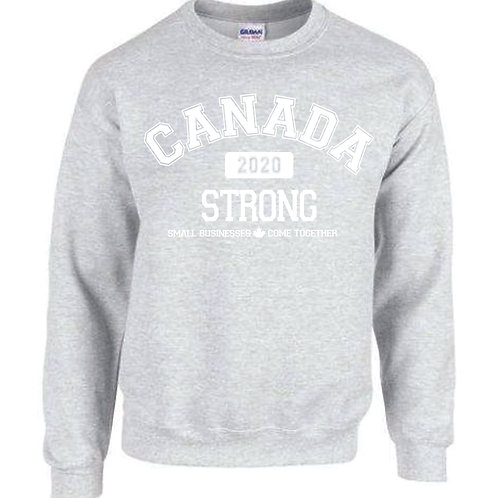 Canada Strong Crewneck (Small Business version)
