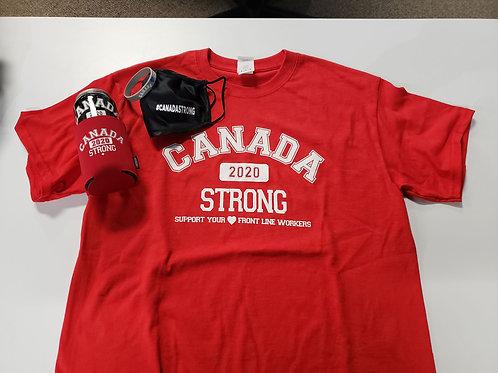 Canada Strong T-Shirt Gift Box