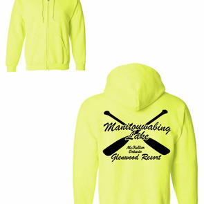 Safety Yellow Zip