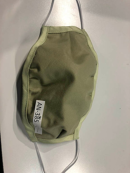 Two Layer Cotton Mask with pocket (STYLE AN-385)
