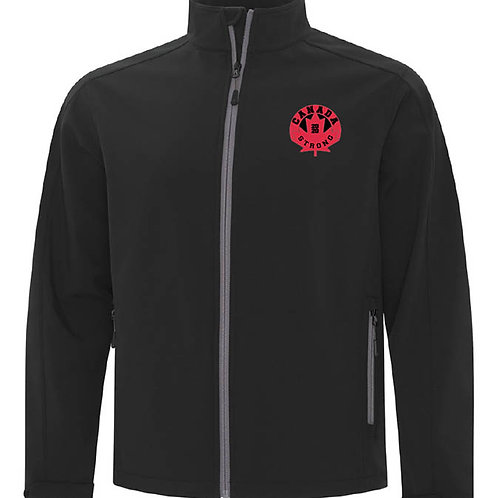 Canada Strong Soft Shell jacket (circle logo)
