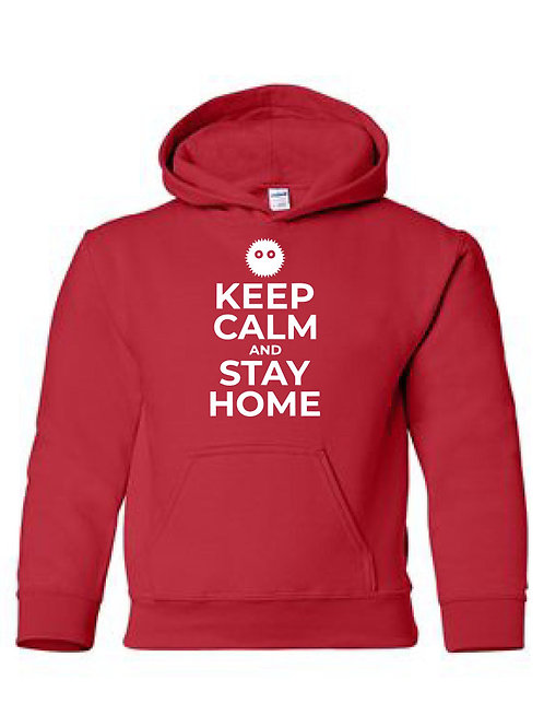 WCGH Collection -  Keep Calm and Stay Home hoodie
