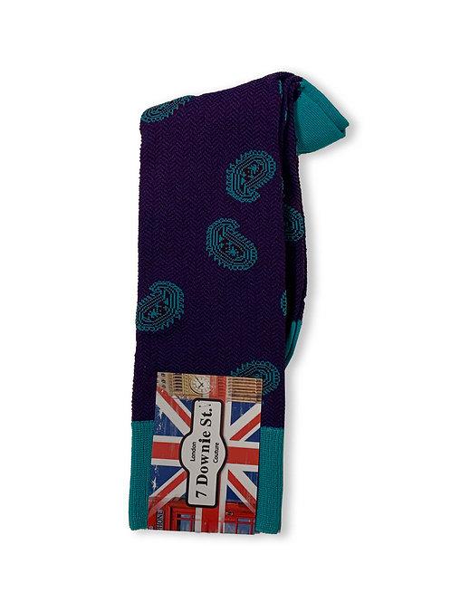 Thumbprint design sock by 7 Downie Street