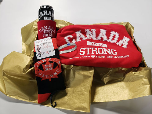 Canada Strong Hoodie Gift Box
