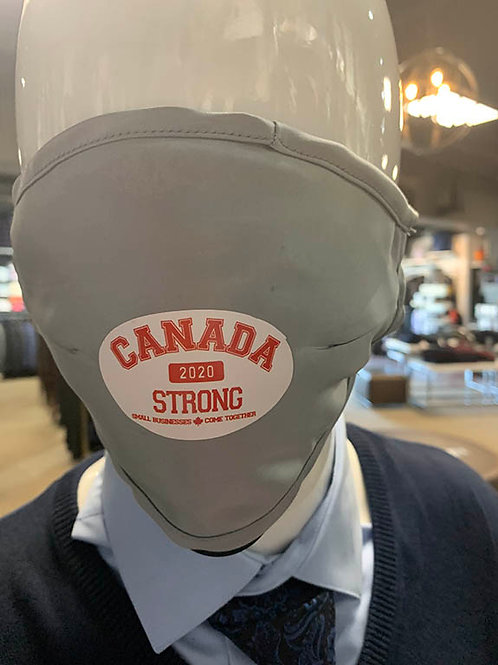Canada Strong logo mask with pocket