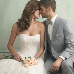 Heather Grey Tuxedo by Allure Men