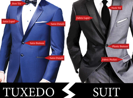 Tuxedo or suit... What is the difference?