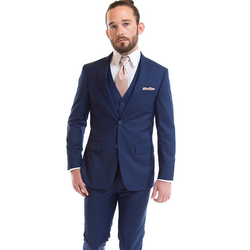 French Blue Suit by David Major