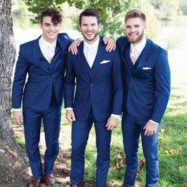 French Blue suit by Love it or Lease it