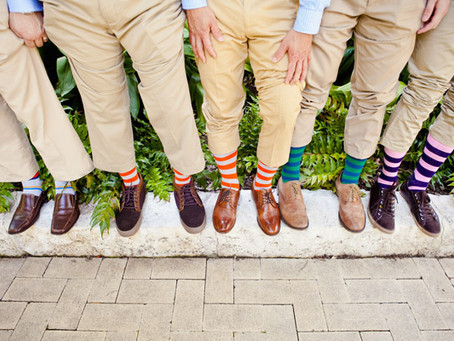 Make a statement with socks