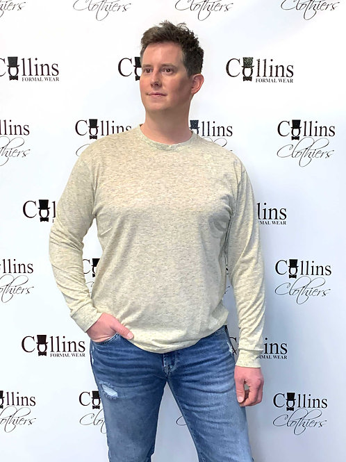 Kangol Long-Sleeve T-Shirt Crew Neck
