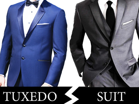 Tuxedo vs Suit... What is the difference?