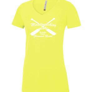 Safety Yellow V-Neck