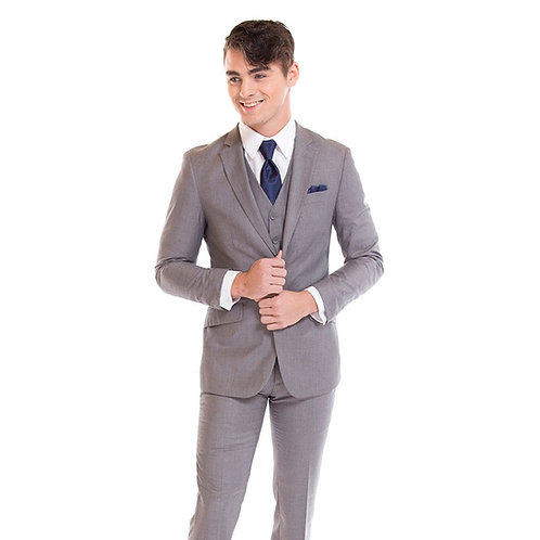 Heather Gray Suit by David Major