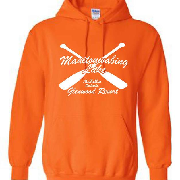 Safety Orange Hoodie