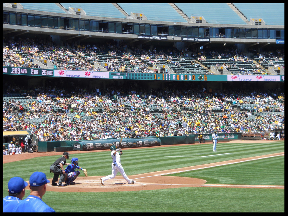 Saving Money and Navigating Sewage at the Oakland Coliseum