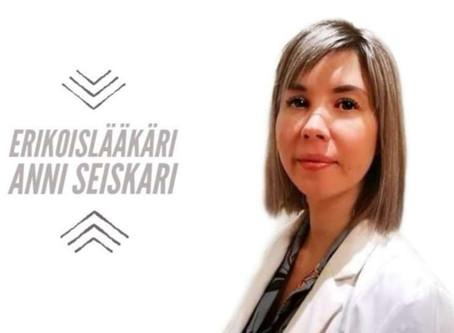 Tapaa Erikoislääkäri Anni Seiskari