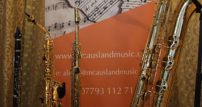 Saxes and banner cropped