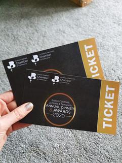 Chambers Awards Tickets