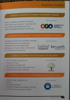 Chambers finals programme