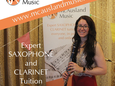 Can your posture help you play Clarinet more easily?