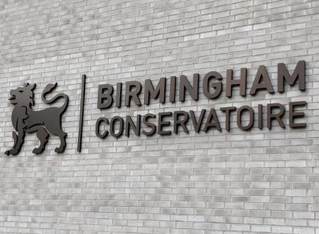 Royal Birmingham Conservatoire - Here I Come!