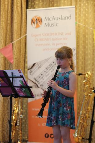 Clarinet solo 1
