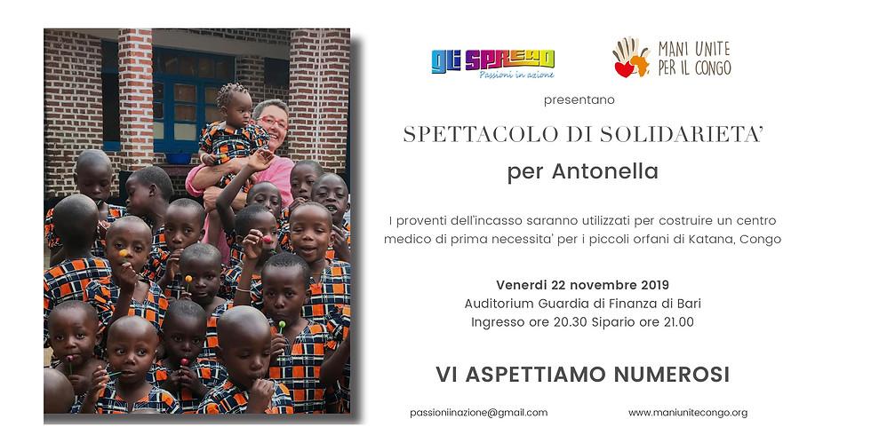 Spettacolo di Solidarietà - Gli Spread per Antonella e i bambini del Congo
