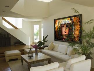 Jim Morrison Design In Glass