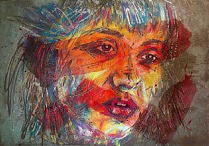 'Sophia' artwork impressionism