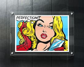 Perfection Glass Wall Art