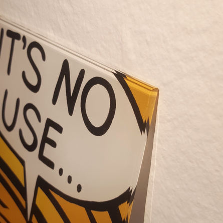 IT'S NO USE - WALL ART