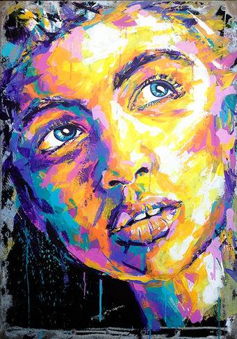 'Molly' artwork impressionism