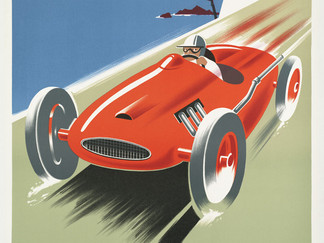 Vintage Poster 'Cote d'Azur'