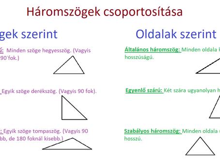 Matek: A háromszögek