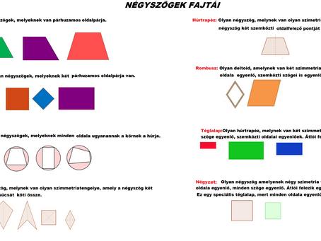 Matek: Négyszögek
