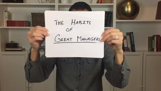 Episode 9: The Habits of Great People Managers