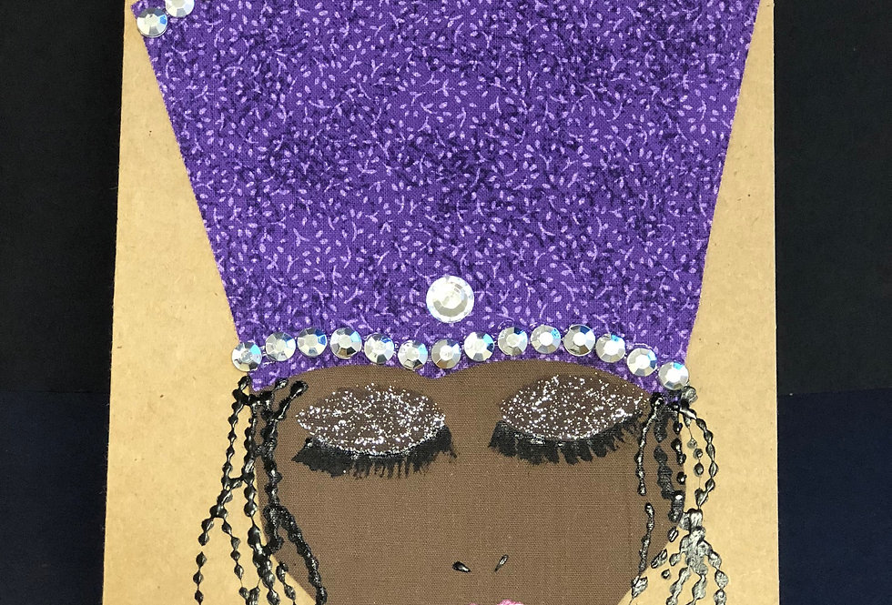 Crown & Glory Greeting Card