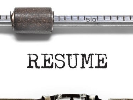 The Four R's of a Great Resume