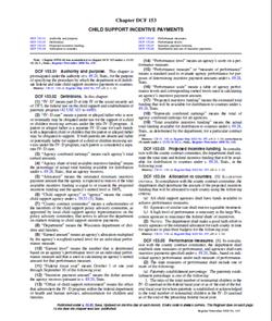 DCF - 153 Incentives