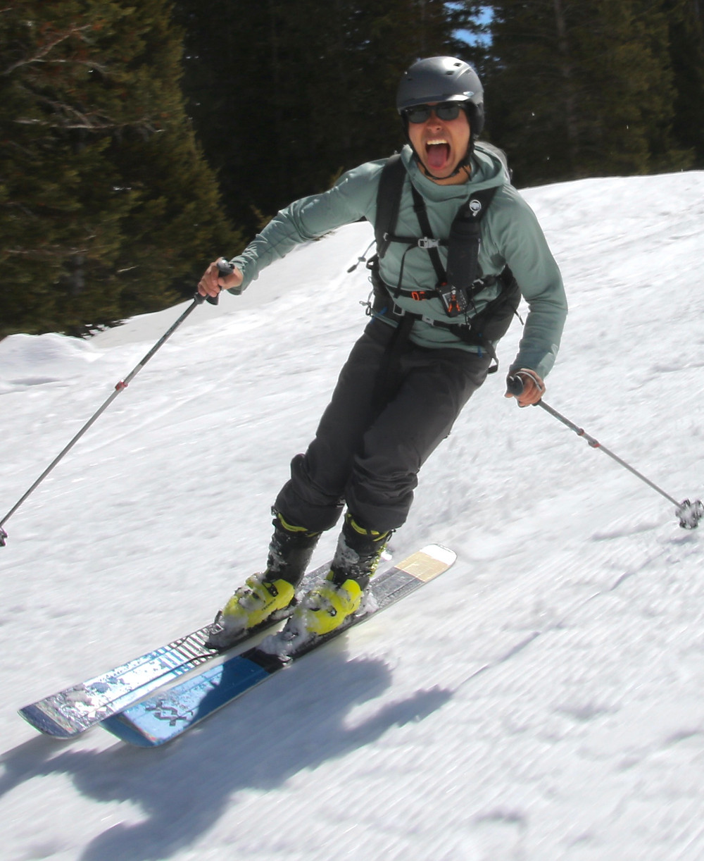some great skiing
