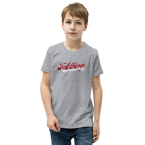 Retro Fab Things Happen in Philly Youth Short Sleeve T-Shirt