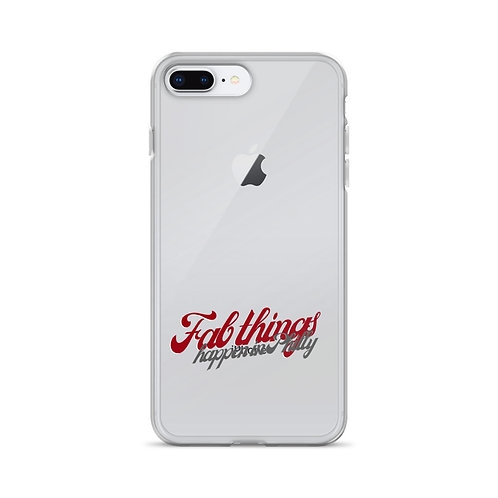Retro Fab Things Happen in Philly iPhone Case