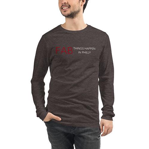 Fab Logo Unisex Long Sleeve Tee