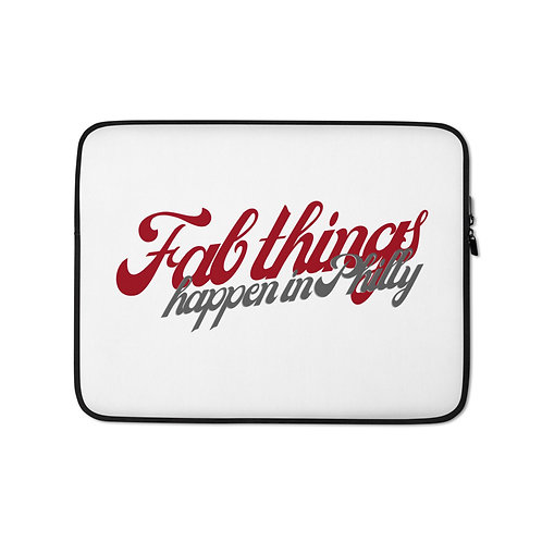 Retro Fab Things Happen In Philly Laptop Sleeve
