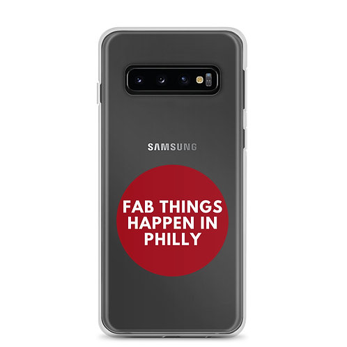 Circle Fab Things Happen in Philly Samsung Case
