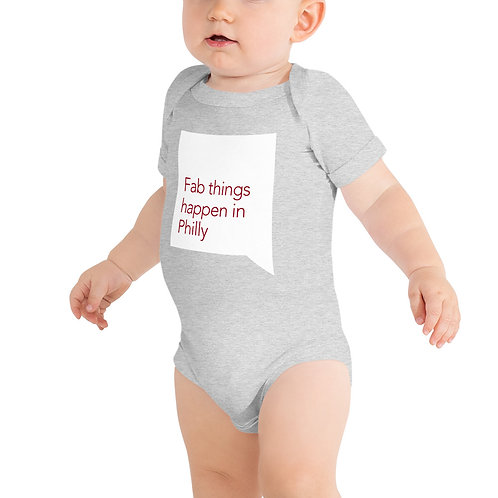 Quote Fab Things Happen In Philly Infant Onsie