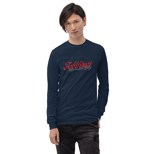 Retro Fab Things Happen in Philly Men's Long Sleeve Shirt