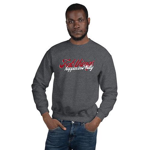 Retro Fab Things Happen Unisex Sweatshirt