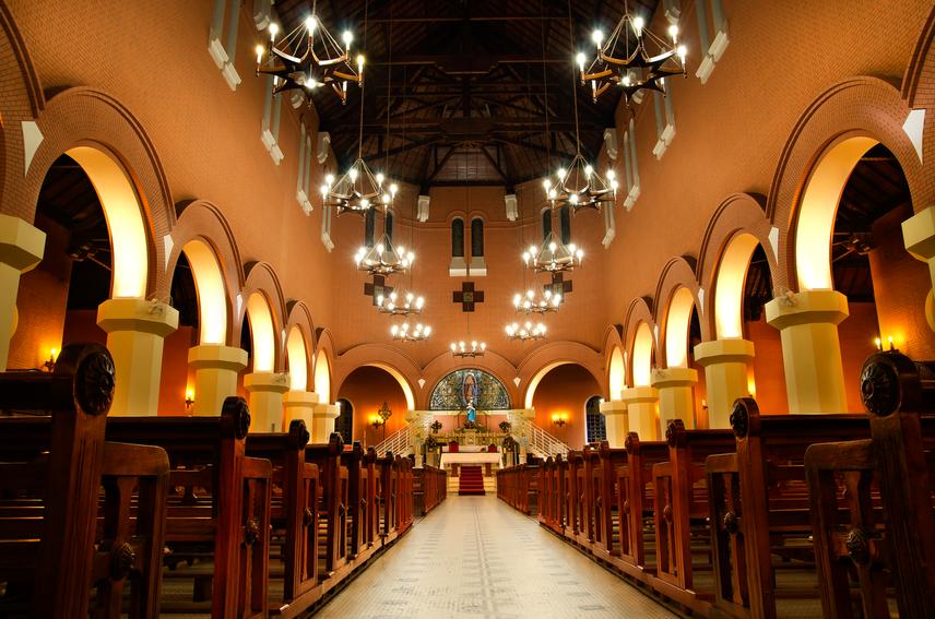 Interior Igreja Matriz Poços de Caldas